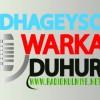 Dhageyso warka radiyaha