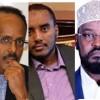 Axmed Madoobe & Fahad Yaasiin oo shir ku leh Villa Somalia iyo Wasiir dil ka badbaaday