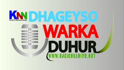 Dhageyso warki radiyaha
