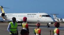 Diyaaradda Uganda Airlines oo maanta duulimaadkeeda ka bilaabaysa Muqdisho