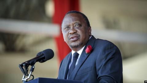 Uhuru Kenyatta oo bur burin ku wado hanaanka dacwadda badda .