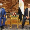 Egypt's Sisi assures Somali counterpart of Cairo's support for Somalia