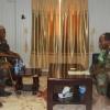 Taliyaha cusub ee ciidamada xoogga dalka oo la kulmay taliska AMISOM
