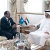 Mohammad Bin Zayed receives Somalia's President