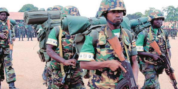 Uganda-Troops